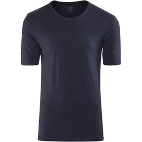 Icebreaker City Lite SS Crewe Shirt Men midnight navy